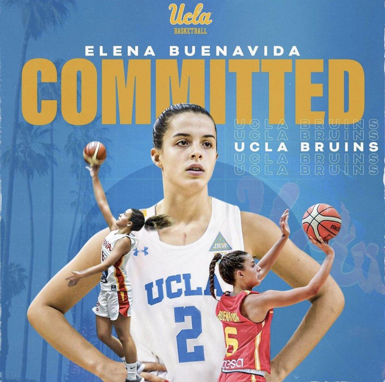 La tinerfeña Elena Buenavida jugará la próxima temporada en UCLA