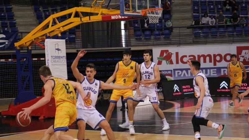 Gran Canaria-Claret pierde en Logroño, pero se clasifica para los cuartos de final de ascenso a LEB Oro