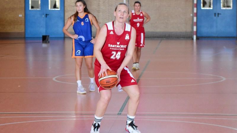 Tina Stenerud Moen volvió a jugar en Tenerife