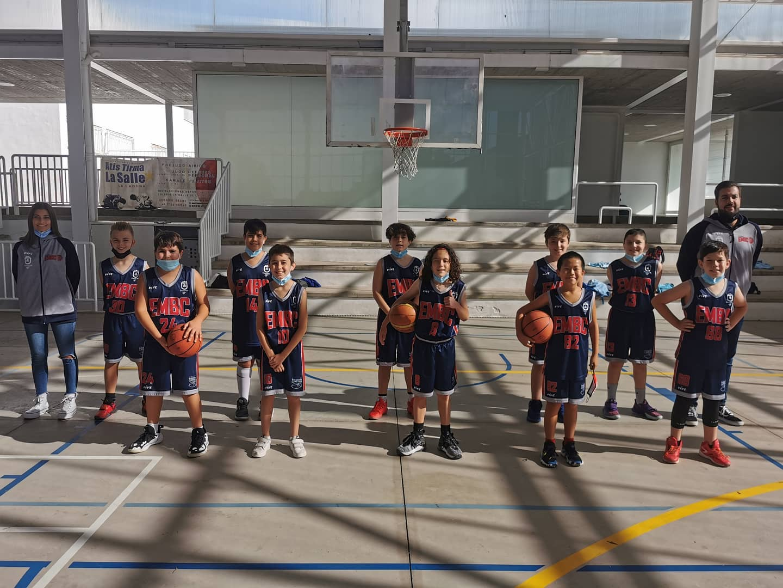 EMB Candelaria, campeón tinerfeño de la Segunda División de Preminibasket