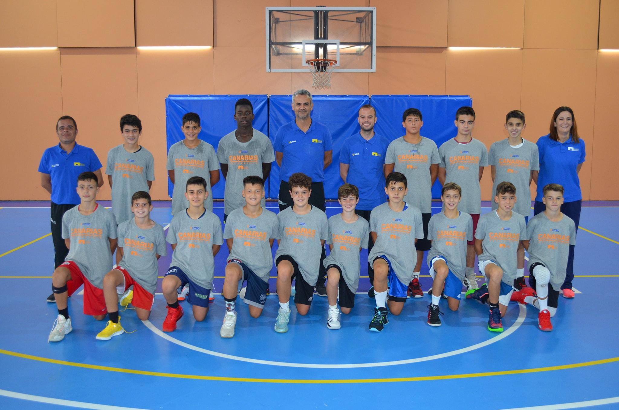 «Competir y divertirse», líneas a seguir por las selecciones canarias en el Nacional Minibasket