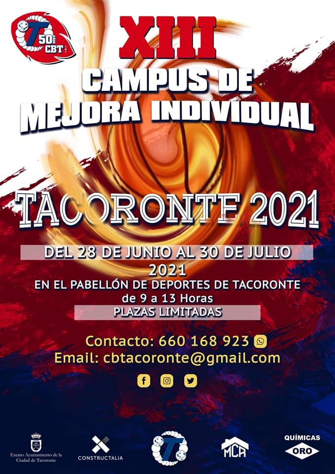 CB Tacoronte aplaza su campus