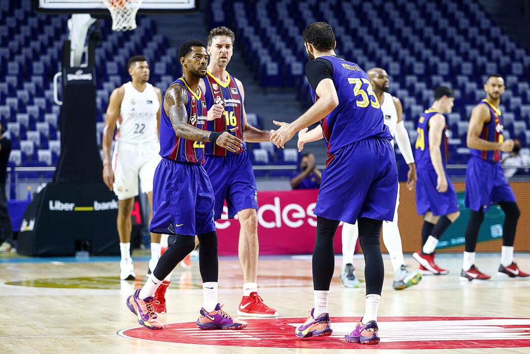 El Barça gana en Madrid y se queda a un triunfo de ser campeón de la ACB