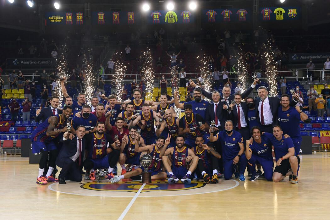Barça, campeón de la Liga ACB 2020/21