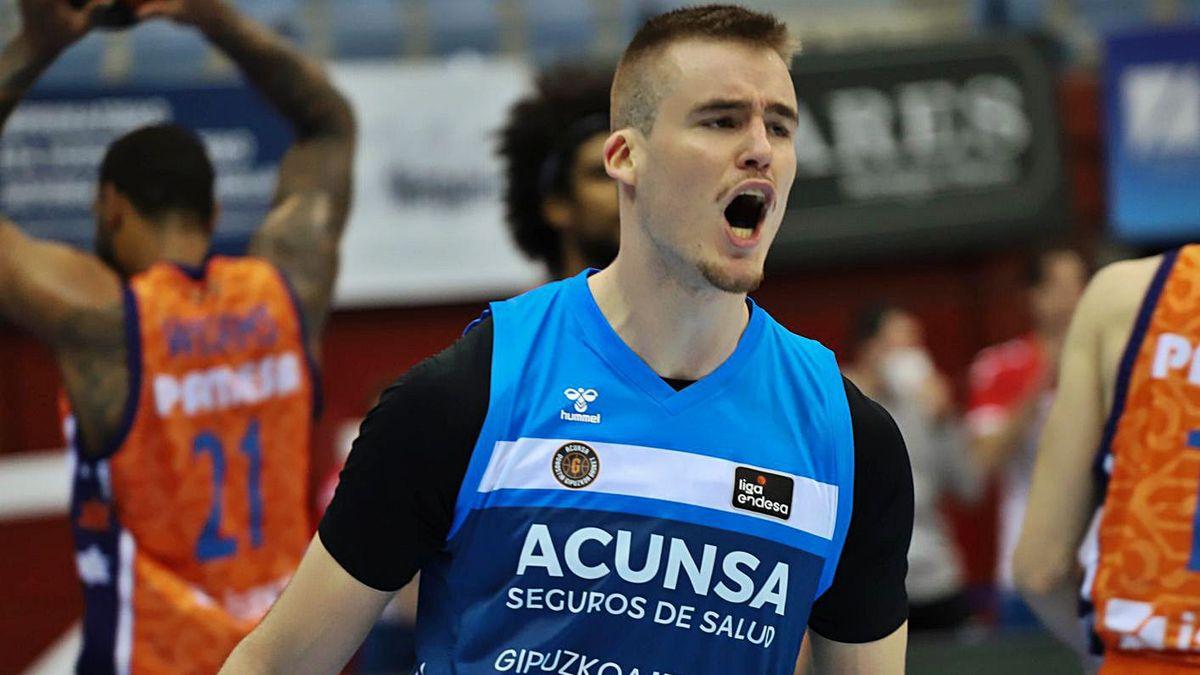 Dino Radončić jugará en el Basket Zaragoza la próxima temporada