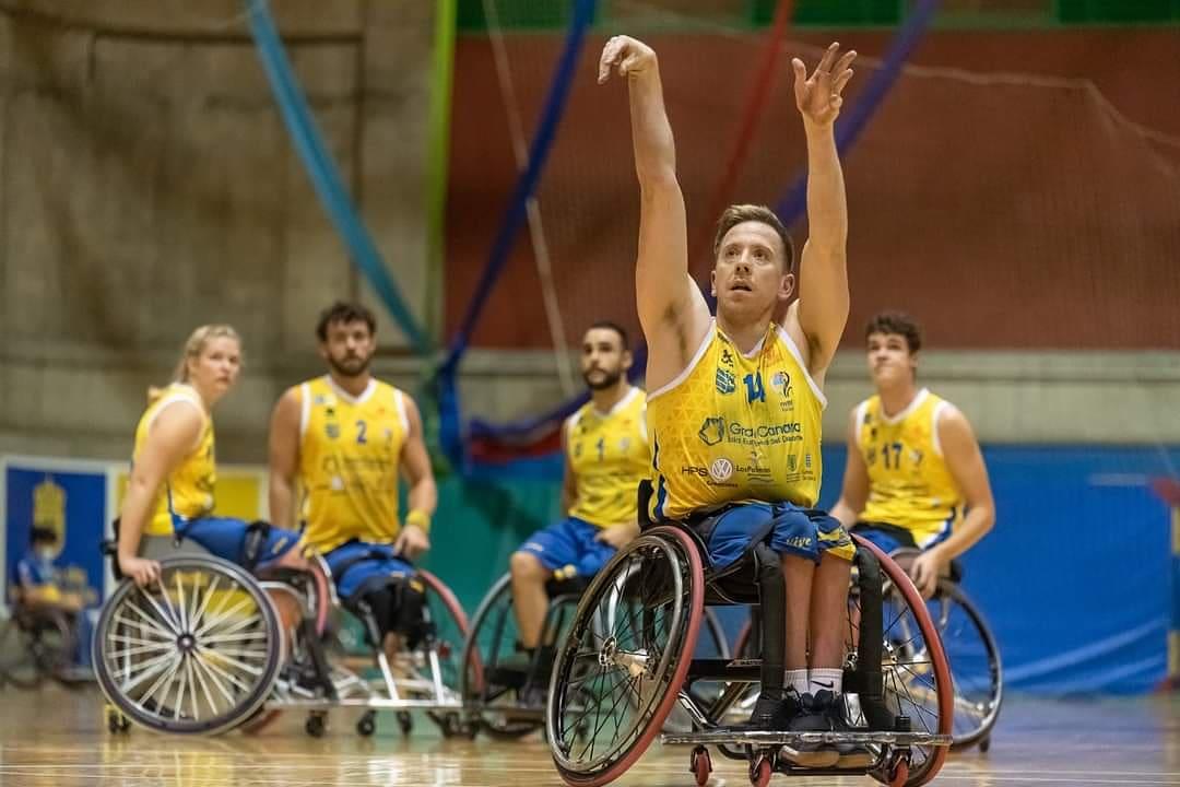 James McSorley, del Econy Gran Canaria, jugará los Juegos Paralímpicos de Tokio con Gran Bretaña