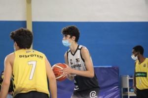 Saúl Rodríguez, del CB Santa Cruz, preseleccionado por la U14