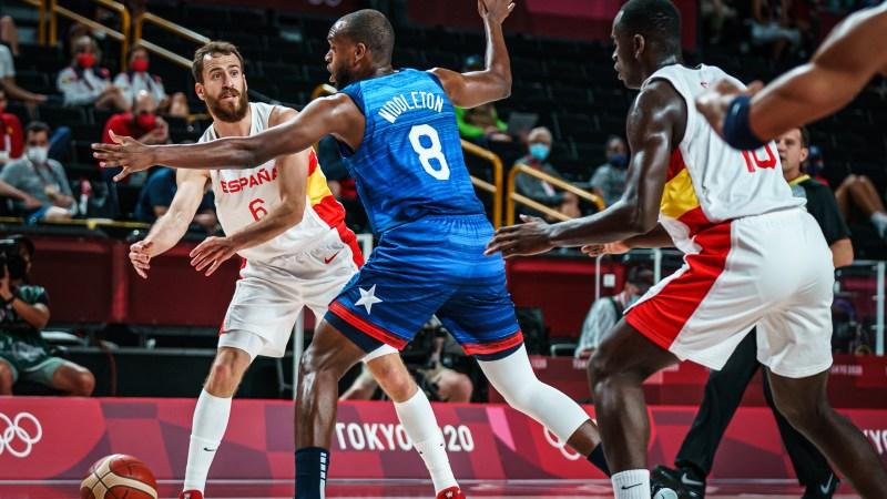 Estados Unidos despierta a España del sueño olímpico