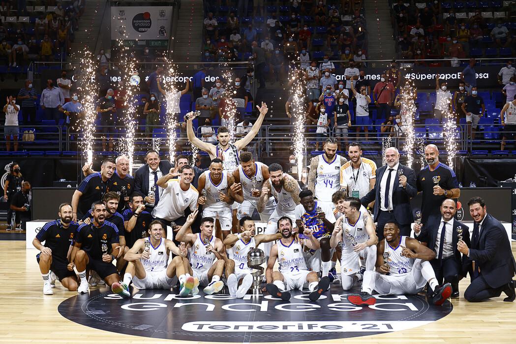 El Real Madrid revalidó el título y es el campeón de las dos ediciones de Supercopa celebradas en Tenerife