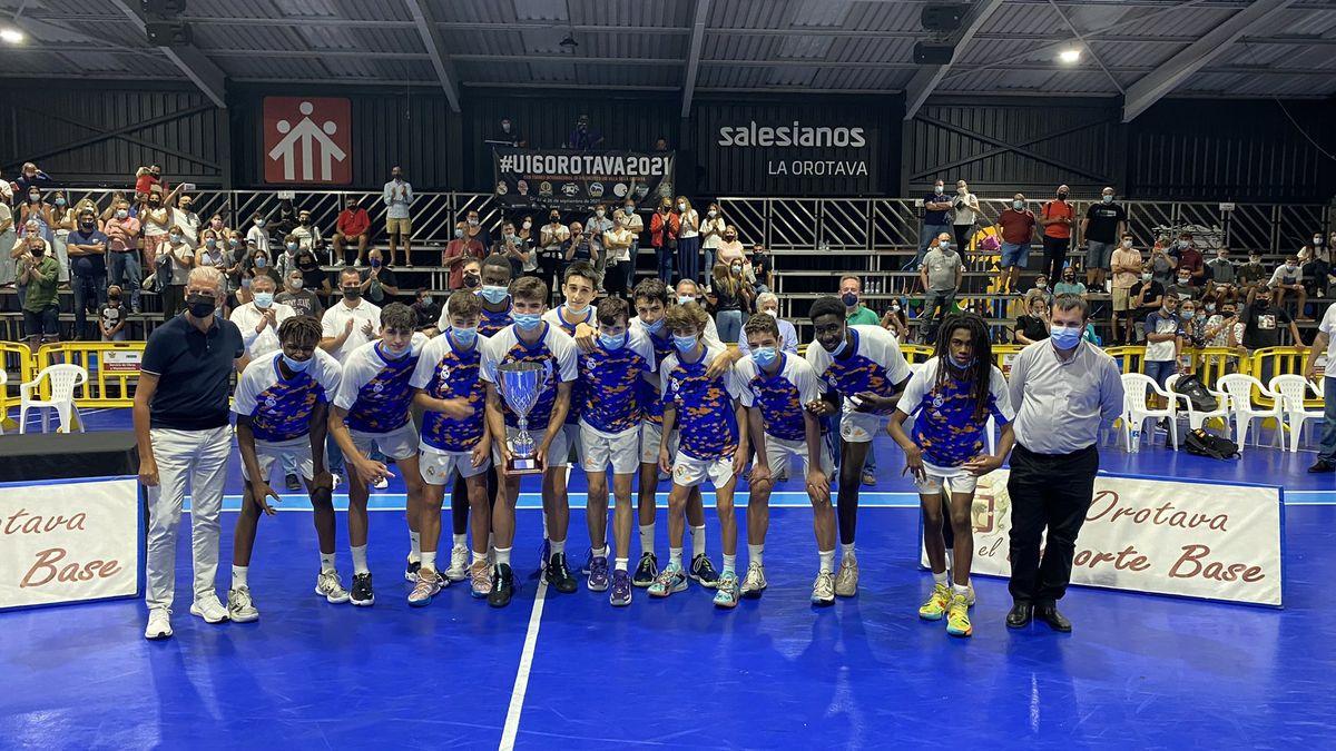 Real Madrid, campeón del XXIII Torneo Internacional U16 Villa de La Orotava