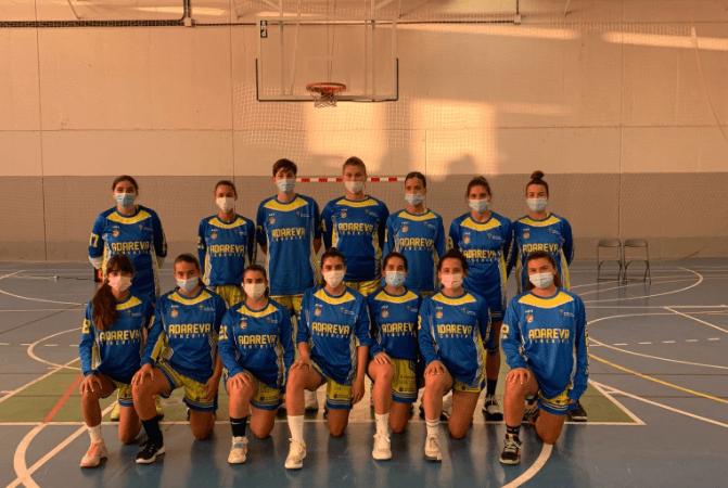 El Adareva de Liga Femenina 2 ofrece buenas sensaciones en su primer partido de pretemporada