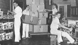 clover-club-boys-packing-1950s