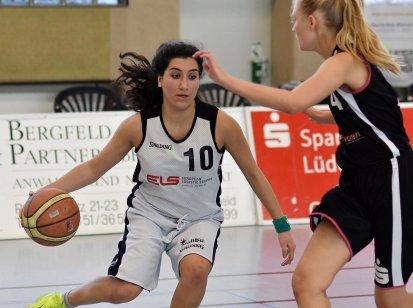 Lilian Wartanian war gegen den TSV Hagen III mit 25 Punkten Topscorerin der Baskets. Foto: Krüger / Lüdenscheider Nachrichten