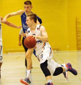 Nick Mayer war mit 28 Punkte der erfolgreichste Scorer der Baskets - für den Sieg reichte das aber nicht.
