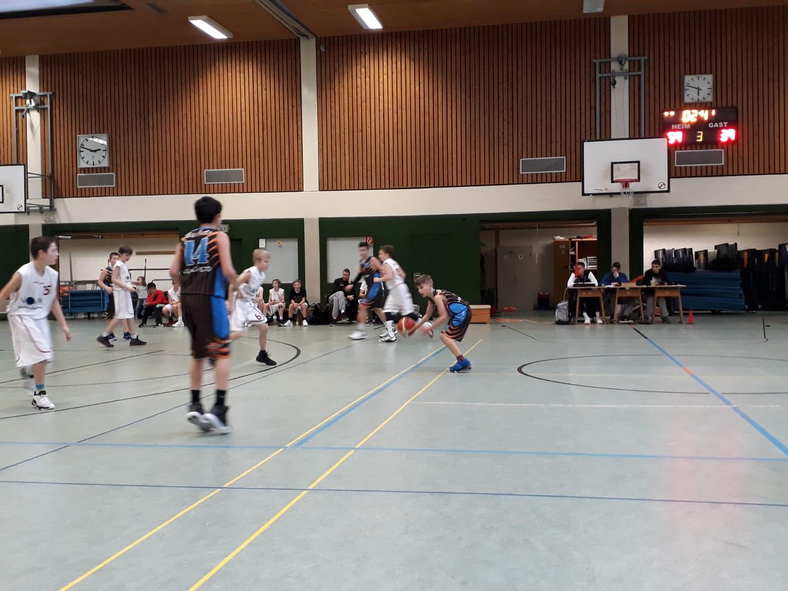 U12-Regionalliga: Achtbar geschlagen