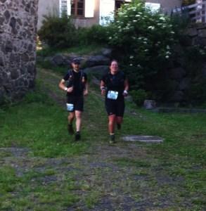 22 km : arrivée au premier ravito ...ça cavale bien