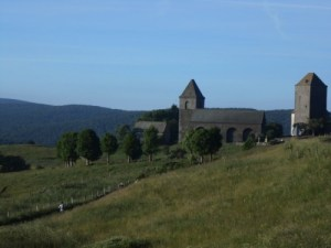 Aubrac et son clocher