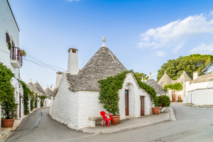 The Incredible Cone-Shaped Houses of Alberobello, Italy