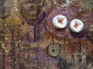 Embroidered lichen detail 2
