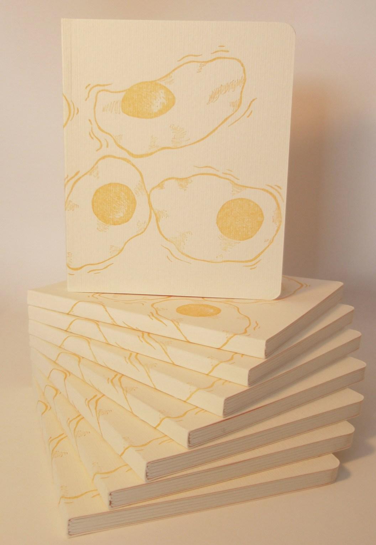 Fried Egg Blank Books