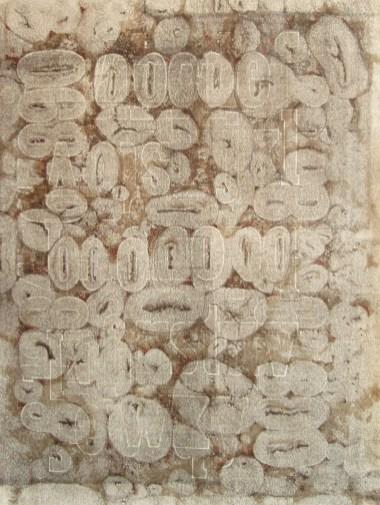 eroding alphabet no. 1