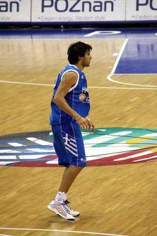 Giorgios Printezis em ação pela seleção grega (Divilgação)