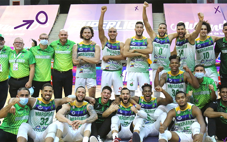 Guaiqueríes became the first finalist of the Superliga |  Basketball Plus