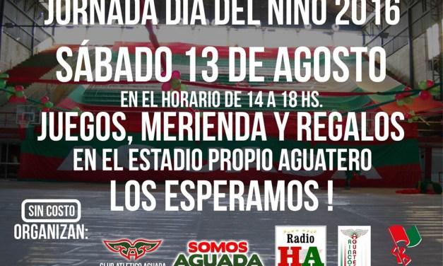 Día del niño en Aguada