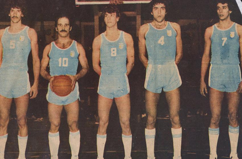Image result for uruguay basquetbol 1984