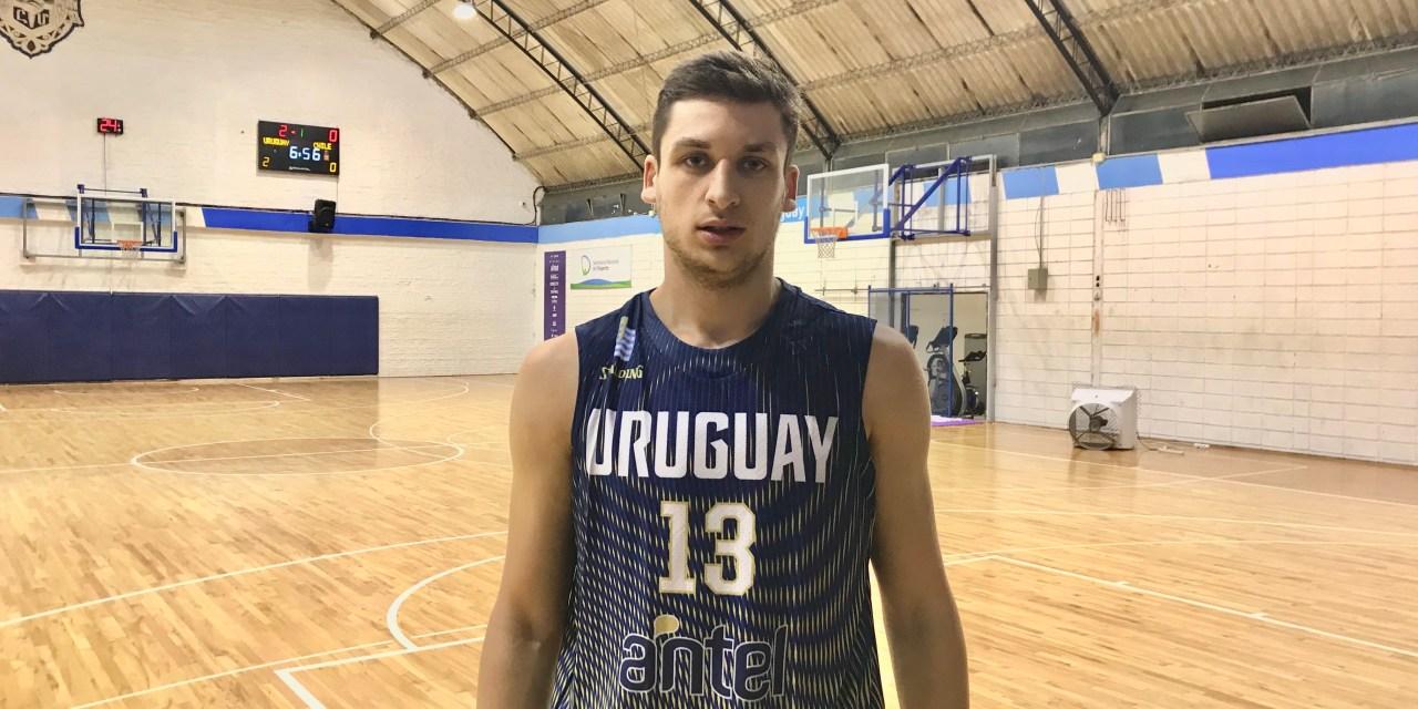 """""""Jugar por Uruguay es la sensación más linda que te puede tocar vivir"""""""
