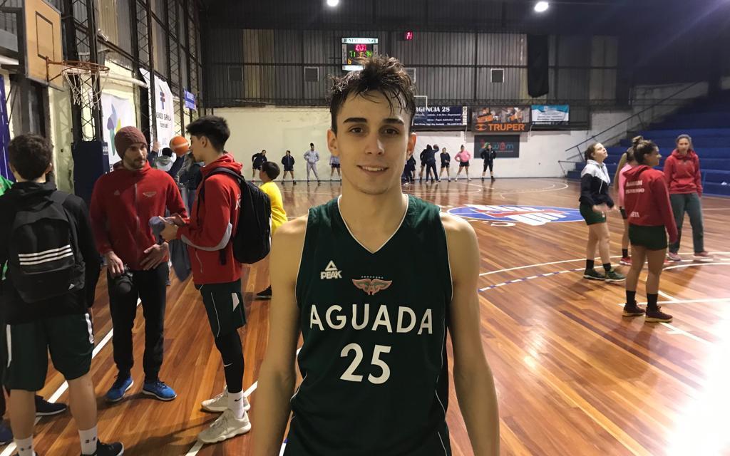 """""""Arranqué a jugar al básquetbol por Leandro, compartir plantel con él es tremendo"""""""