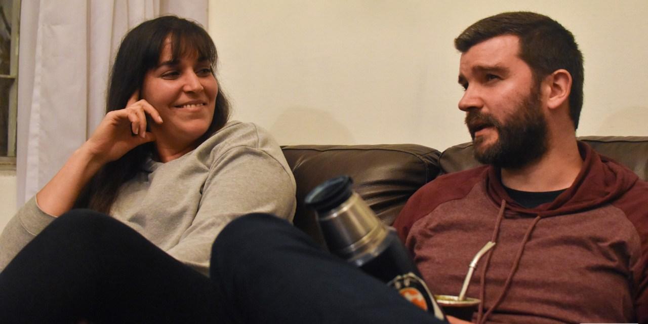 El equipo sin hinchada: Alejandra Godoy y Andrés Haller