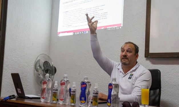 Ciclo de charlas: Richard Pereira