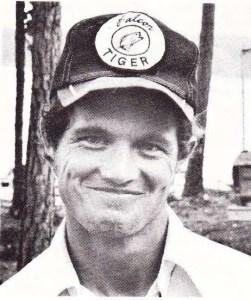Rick Clunn 1974 Bass Master Classic qualifier.