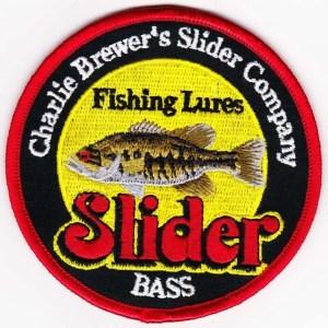 Charlie Brewer Slider Fishing Patch.
