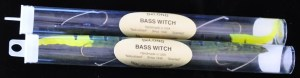 DeLong Bass Witch plastic worms in original packaging circa late 1990s to early 2000s.