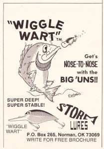 An early 1976 Storm Wiggle Wart ad.