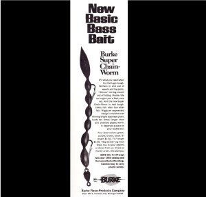 As if the standard Chain Worm wasn't enough, Burke also had the Super Chain Worm in 1969.