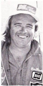 Jimmy Houston and his first Bass Master Classic qualification in 1975.