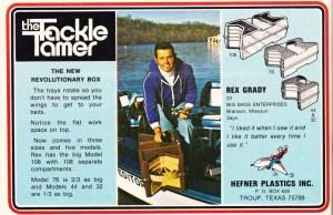 1976 Hefner Plastics Inc Tackle Tamer.