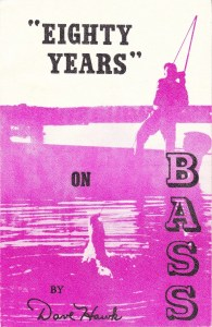 """""""Eighty Years"""" on Bass by Dave Hawk. Printed 1958."""