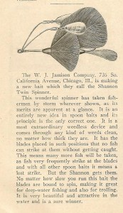 Shannon promotional write-up from a 1917 National Sportsman's magazines. Phot Bill Sonnett.