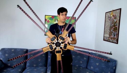 【動画あり】弦じゃなくてネックが10本!?多ネックベースを知ってますか?