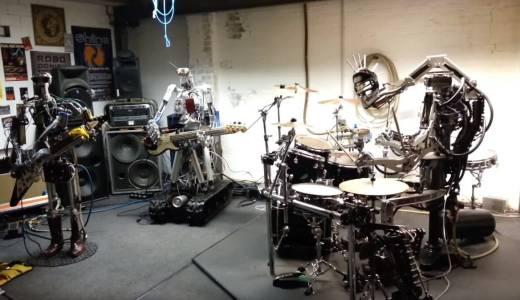 ロボットバンドの演奏がハイクオリティすぎてヤバい!
