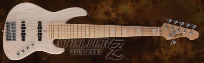 アトリエZの6弦ベースBeta6