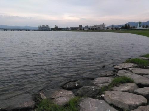 琵琶湖の由美浜エリア