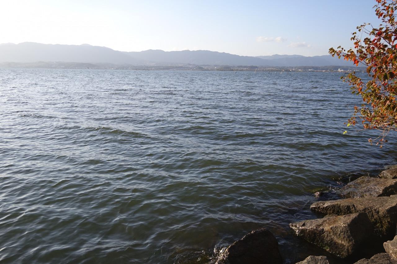 琵琶湖の木浜エリア