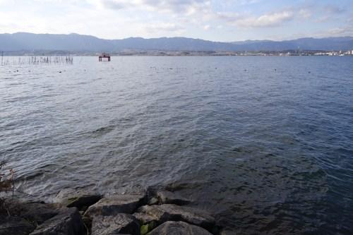 20181225 琵琶湖の木浜エリア