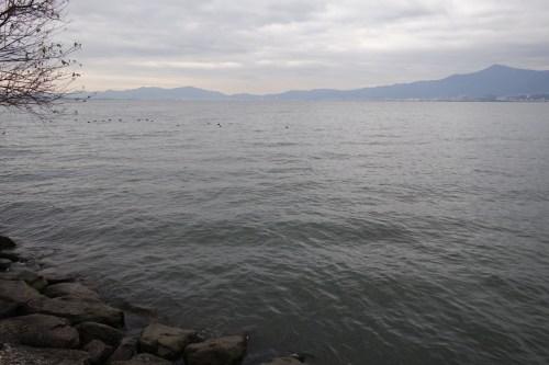 20181226 琵琶湖の木浜エリア