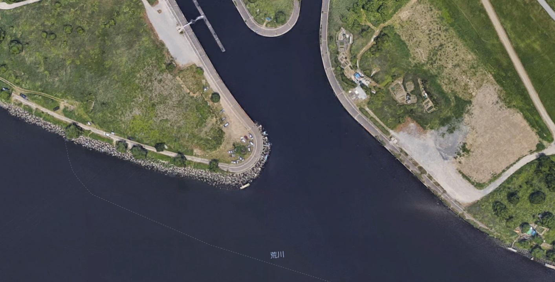 【ポイントマップ】荒川 笹目橋周辺 オカッパリバス釣りポイント&おすすめルアー